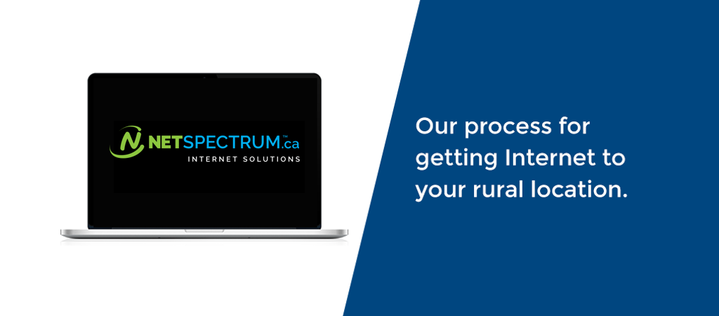 Process to Get NETSPECTRUM Wireless Internet at your Rural Location