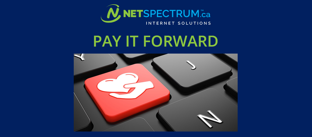 NETSPECTRUM Pay it Forward Program